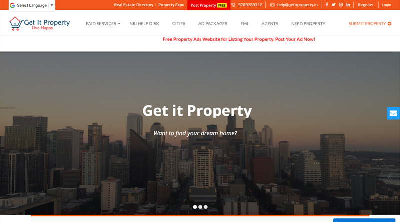 real estate web site development
