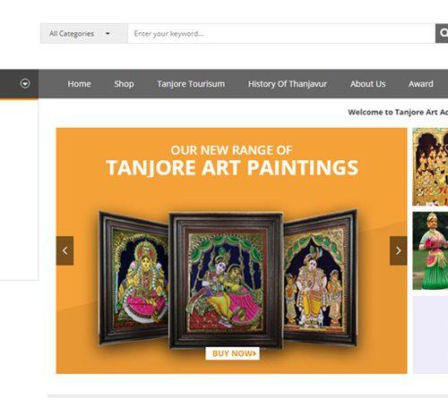E-Commerce website development in Thanjavur